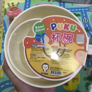 Puku Bowl Big and Small (Isi 2)