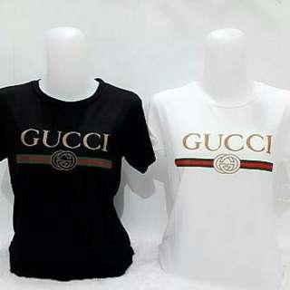 Kaos Gucci bahan kaos adem ld95 52.000
