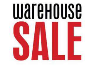 Warehouse sale at AMK! Everything must go ! 7-8 JULY ONLY!!