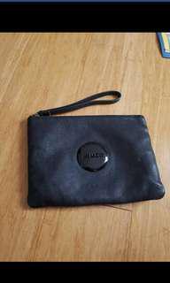 Black medium pouch mimck
