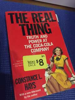 The real thing - truth and power at the Coca Cola company