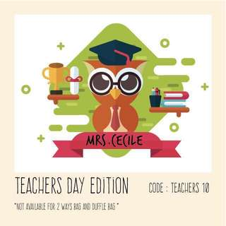 Personalised pouch , pencil case , bags for teachers day gift - teachers10