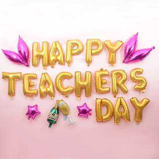🚚 Happy Teacher's Day Balloons