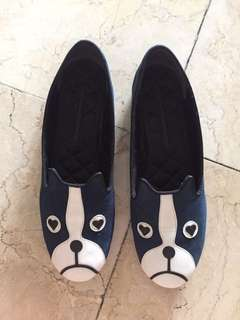 Marc by Marc Jacobs Dog Loafer in Navy Blue