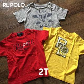 RL Rneck Shirt Bundle for Little Boys