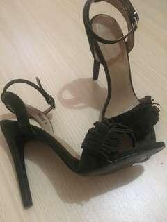 Suede Parisian Sandals