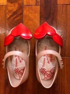 Mini Melissa White Shoes
