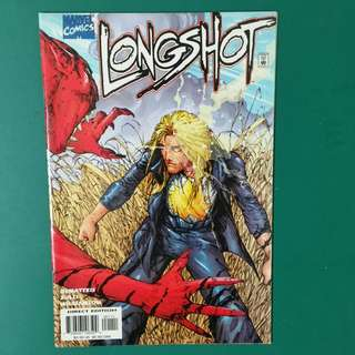 Longshot No.1 comic
