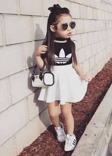 Trendy ootd for baby girls