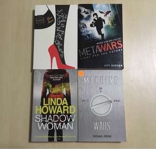 Books (fiction) for RM 5 each!