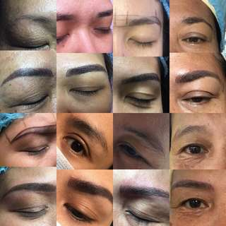 Eyebrow Embroidery w/ shading( 2 session & free after care)