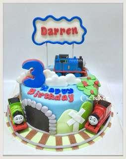立體蛋糕 3Dcake 生日蛋糕 thomas蛋糕 托馬斯蛋糕