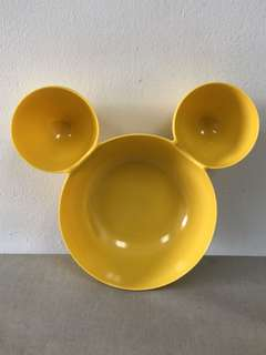 Mickey Mouse shape bowl from Hong Kong Disneyland