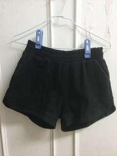 [wam]運動短褲 類似麂皮材質❤️