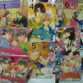 Yaoi BL Manga Comic Book