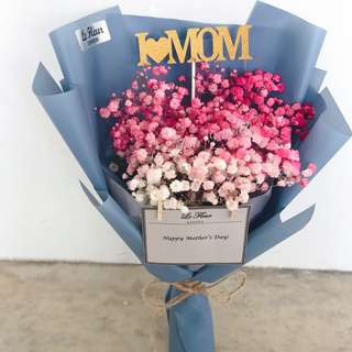Mother's day Ombre Baby's Breath
