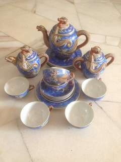 VINTAGE RARE GEISHA TEA SET