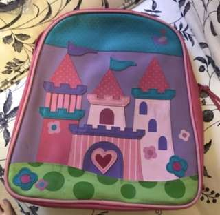 Stephen Joseph Princess Castld Backpack