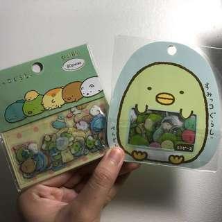 (INSTOCK) Cute Japanese stickers San X Sumikko Gurashi RARE!!!
