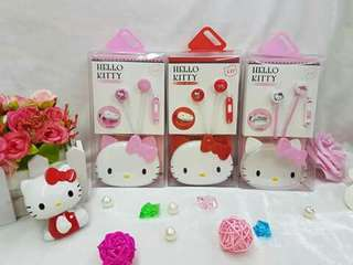 Hellokitty earphone with case