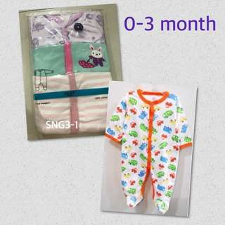 FREE MAILING 💌 Next Sleepsuit for girl NB-12 month