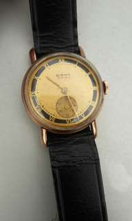 Vintages Sub Second Gold Watch