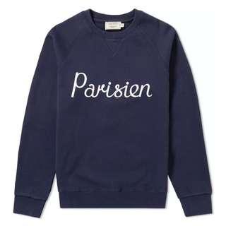 Maison kitsune parisien sweater