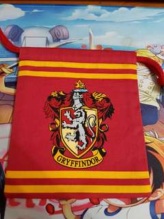 Harry Potter Gryffindor Drawstring Pouch