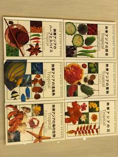 Tropical series of books in Japanese and German