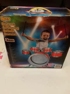 Kids Toy - Drum Set Jazz (8 pcs)
