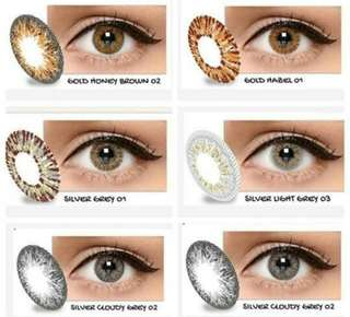 New softlens x2 ice silver