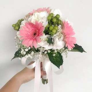Bridal bouquet - Pastel