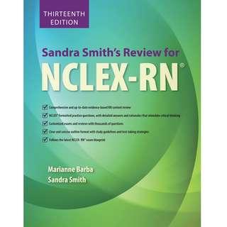 Sandra Smith's Review for NCLEX-RN® 13th Thirteenth Edition by Marianne P. Barba, Sandra F. Smith - Jones & Bartlett Learning