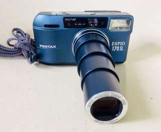Pentax Espio 170 SL film camera