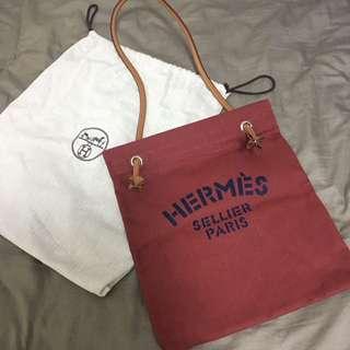 Hermes Aline 全新正品單肩帆布袋