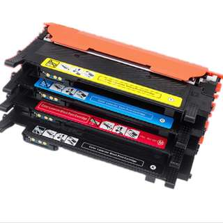 Brand New Samsung Compatible K406S Replacement Toner Cartridge Set of 4 Black Color for C410 C410W Laser Printer