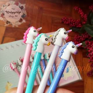 4 for 100 Unicorn Eraseable Ink Gel Pens