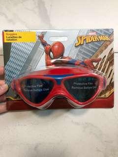 Spider-Man swimming goggles