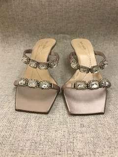 Kate Spade 水晶 女神鞋