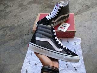 Vans Sk8-Hi Grey Black White
