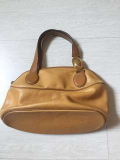 INC postage Authentic vintage Christian Dior leather bag