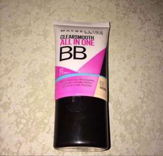 🌻SALE! MAYBELLINE CLEARSMOOTH ALL IN ONE BB CREAM