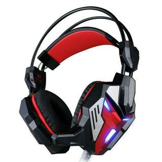Headset Gaming Kotion Each G3100 With Audio Jack 3.5mm Led + Vibration (NEGO)
