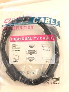 HDMI To DVI GOLD Plugs cable