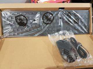 BN Dell Keyboard & Optical Mouse