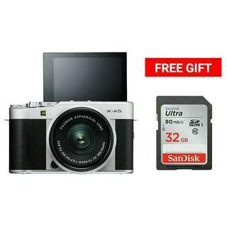 Fujifilm X-A5 with XC15-45mm F3.5-5.6 OIS PZ Lens