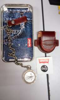 Levi's chain pocket watches