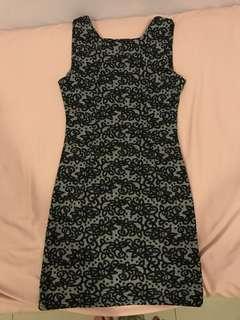 Lace Print Dress #july50