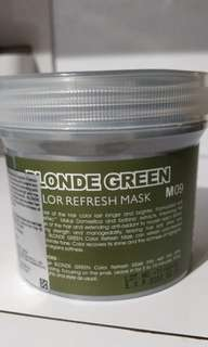 Missdear Blonde Green Hair Mask.