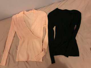 Knit Long Sleeves Top #july50